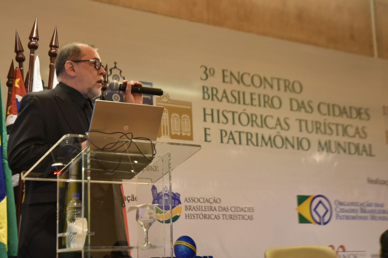 Diretor do Departamento de Articulação e Fomento do Iphan, Marcelo Brito