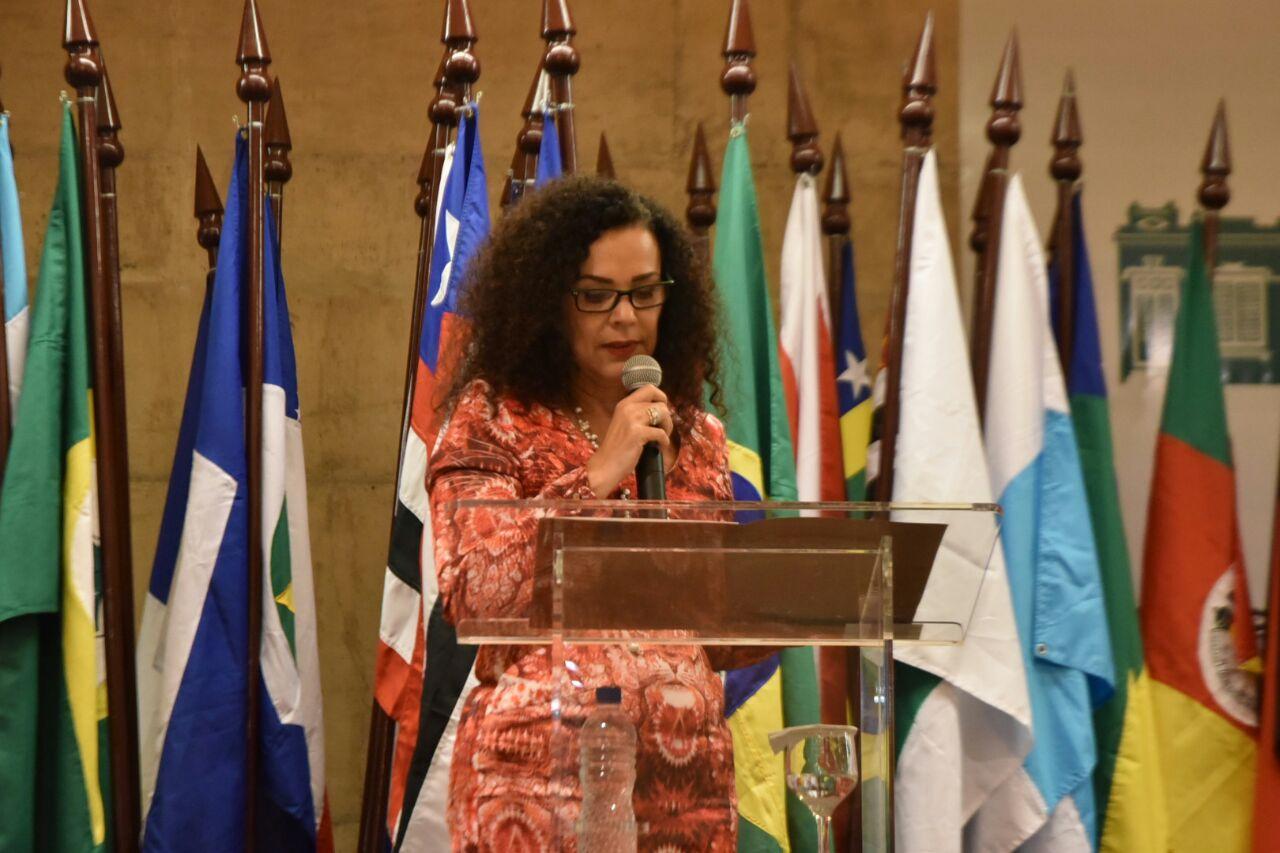 Discurso da presidente do Ipha,  Kátia Bogéa