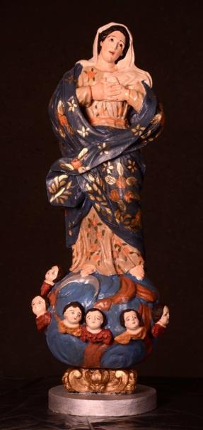 Obra de arte sacra do Museu de Arte Sacra de Alagoas, em Marechal Deodoro