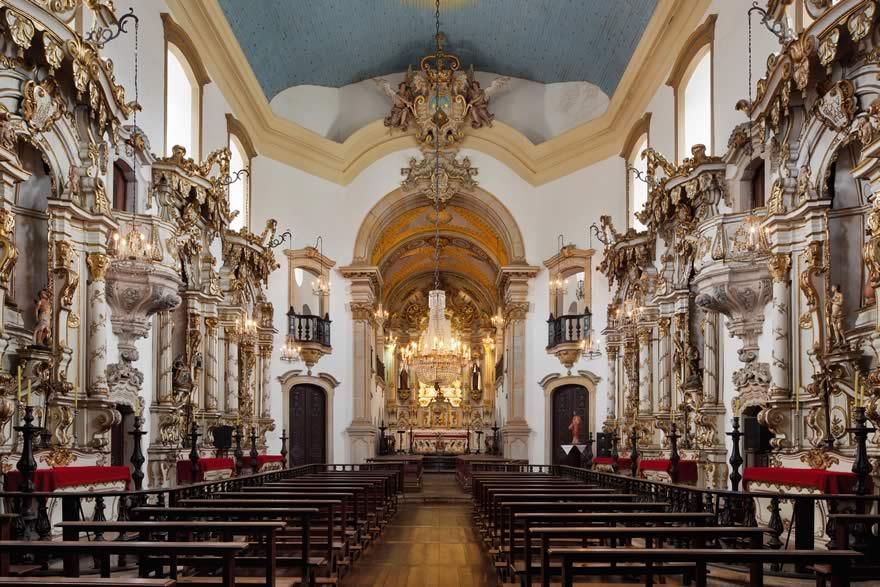 Interior da Igreja de Nossa Senhora do Carmo