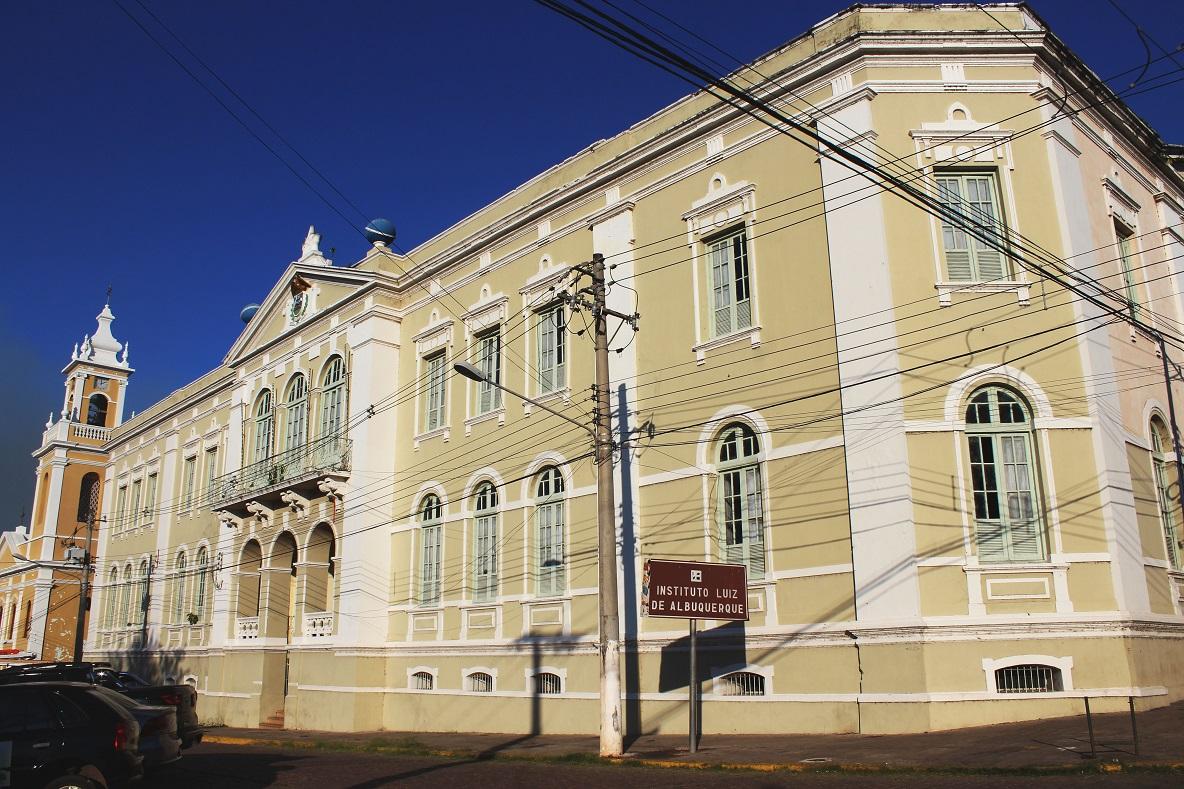 Edifício do Instituto Luiz de Albuquerque (ILA), em Corumbá (MS)