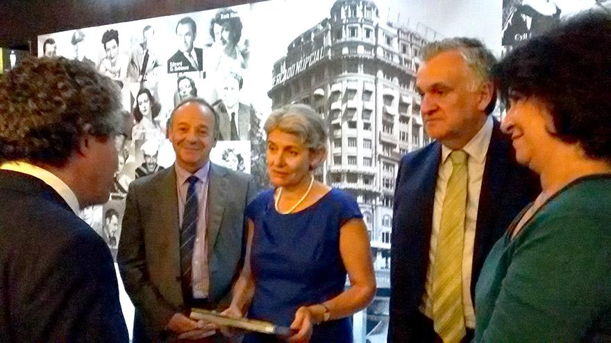 Estavam presentes o Ministro da Cultura, Juca Ferreira, a presidente do Iphan, Jurema Machado, e os membros da equipe que elaboraram o trabalho