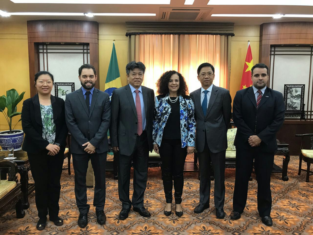 Representantes do Iphan e de estatal chinesa discutem desafios do licenciamento ambiental na Embaixada da China