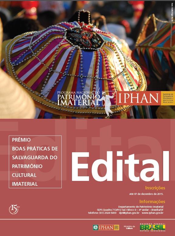 Iniciativa do Iphan premiará Boas práticas de Salvaguarda do Patrimônio Cultural Imaterial