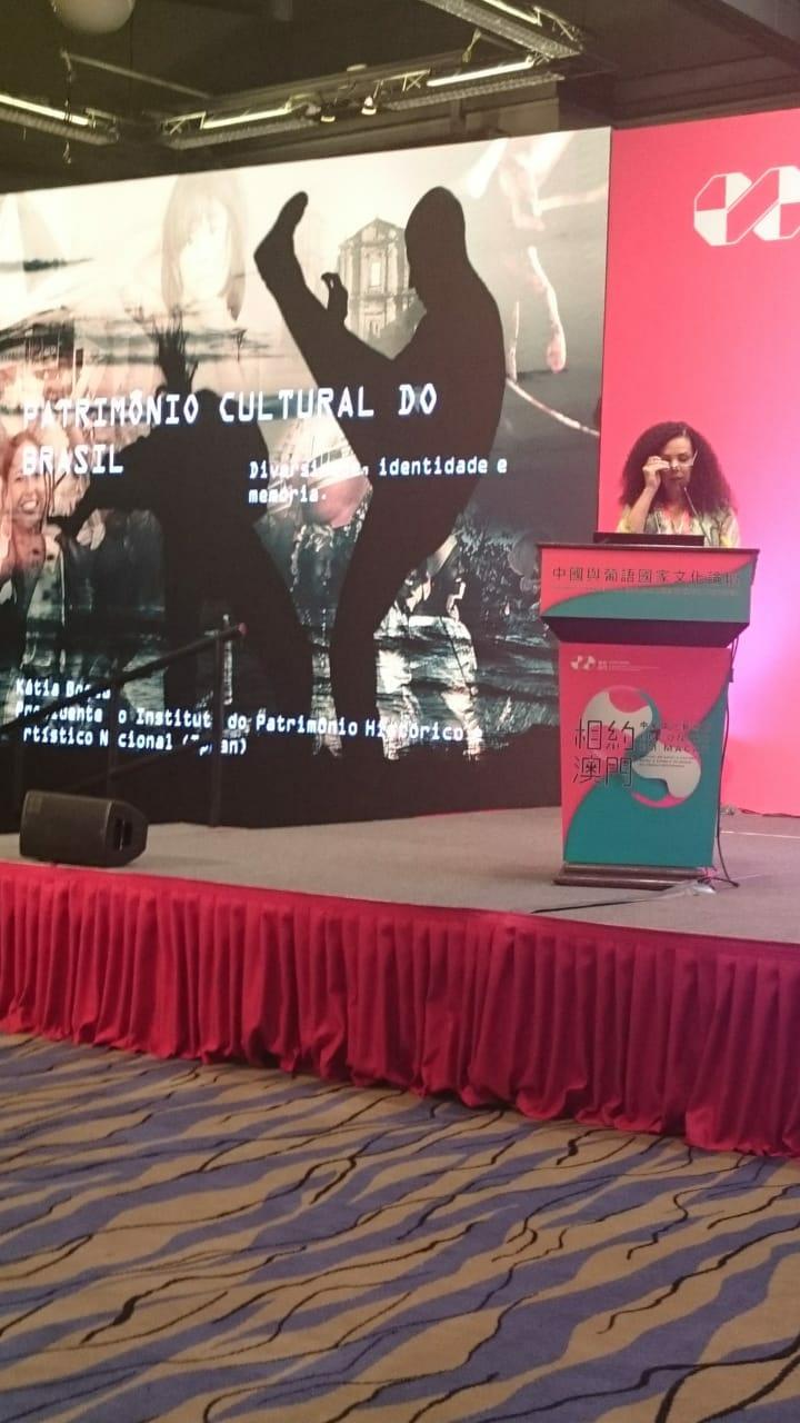 Presidente Kátia Bogéa participa de Festival de Artes Sino-Lusófonas em Macau, China