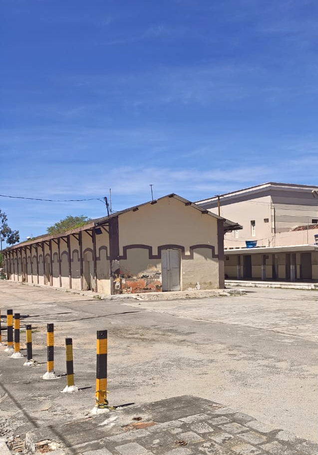 O Pátio, a Estação e o Armazém de Caruaru integram o Patrimônio Ferroviário valorado pelo Iphan